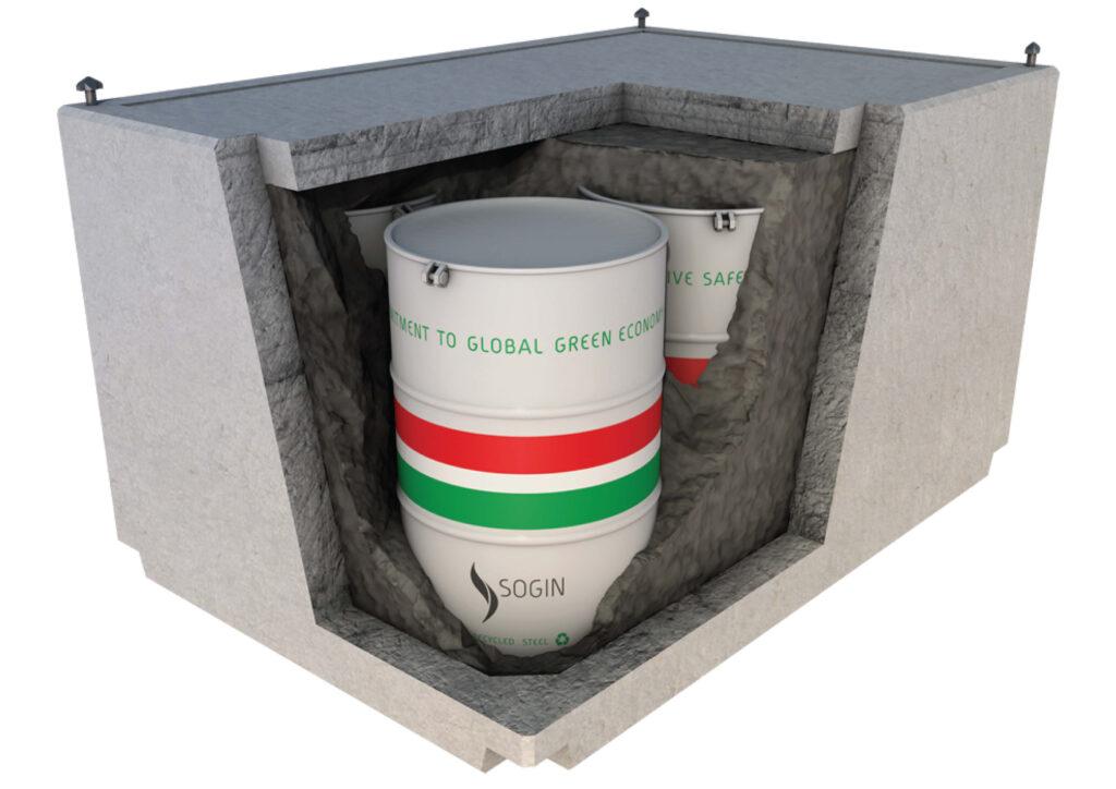 Deposito rifiuti nucleari seconda barriera