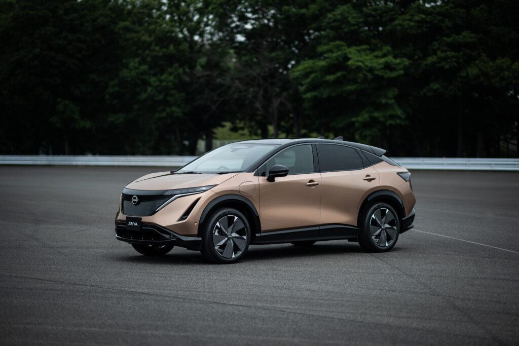 Nissan Ariya frontale