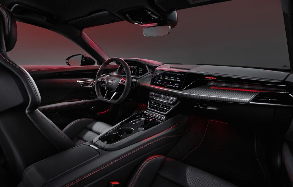 Audi e-tron GT interni