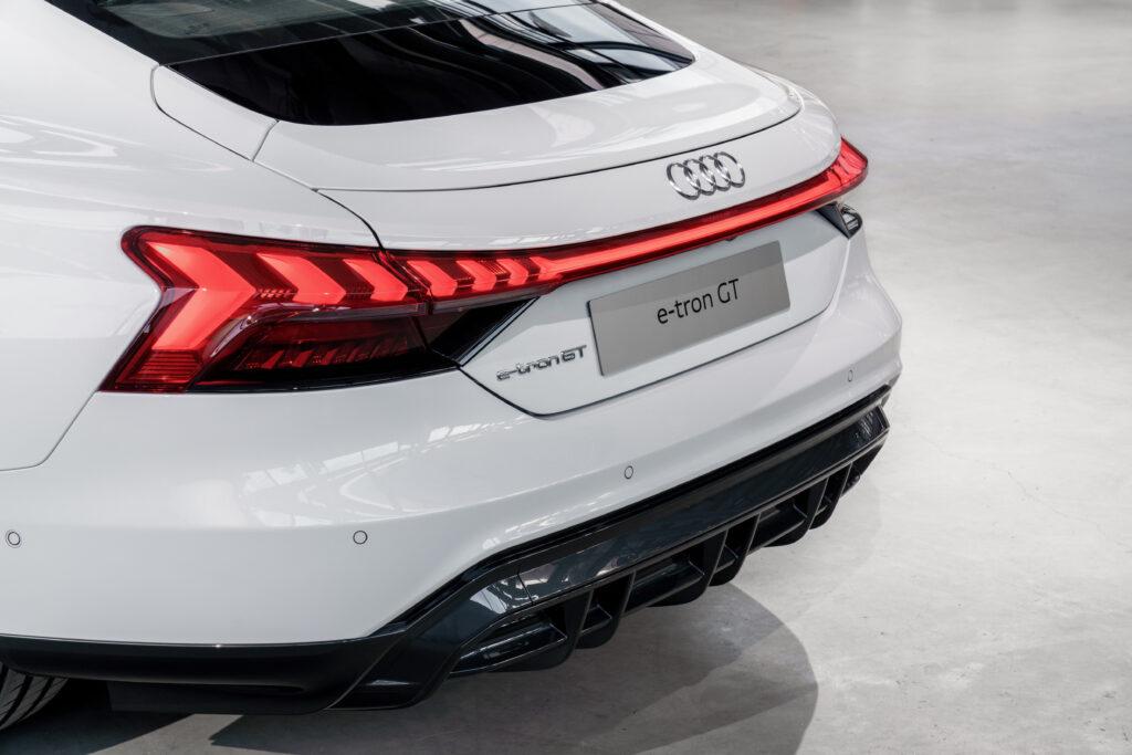 Audi e-tron GT quattro posteriore