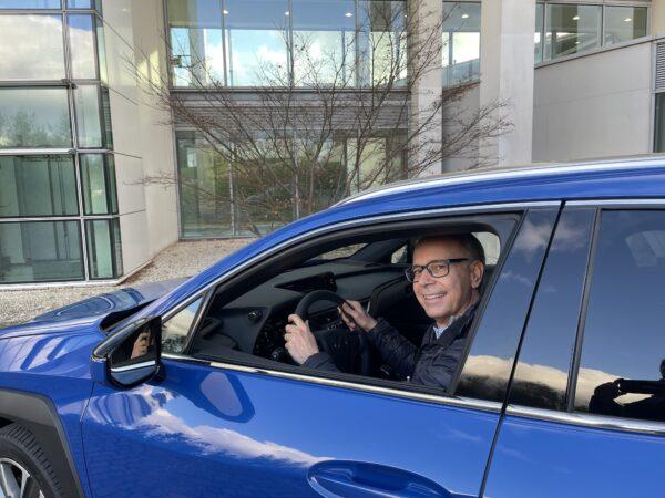 FO prova Lexus UX 300e elettrica