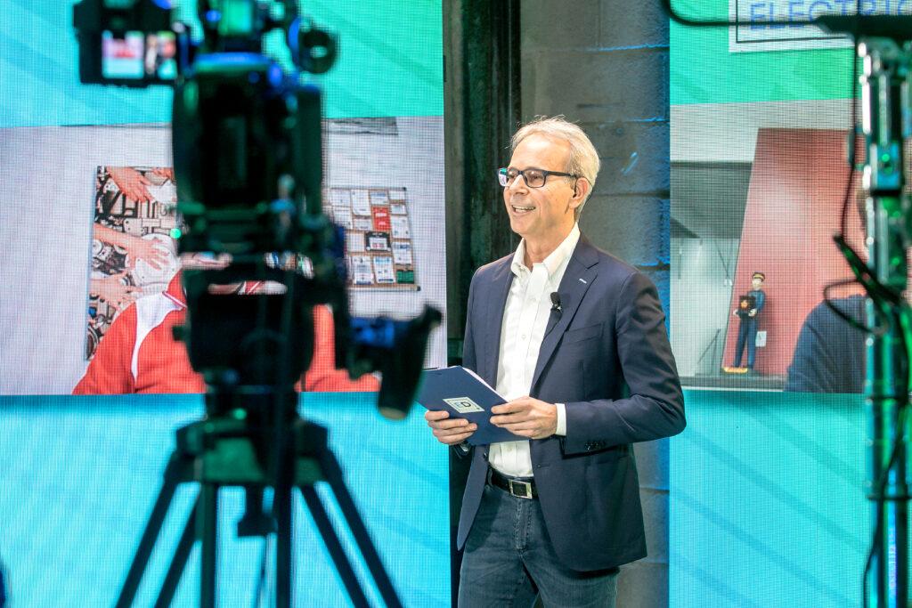 FO con telecamera talk motori elettrici
