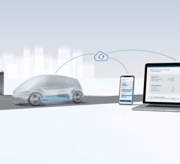 Bosch battery in the cloud, auto elettrica in salute grazie alla nuvola