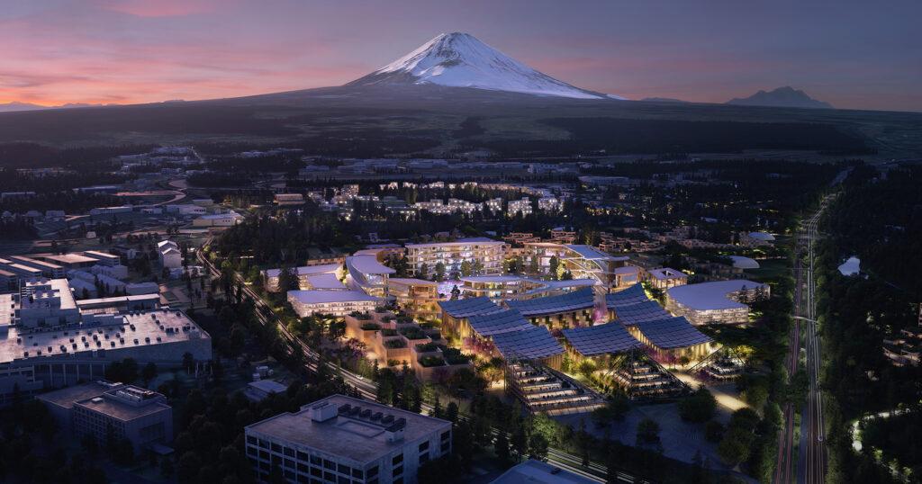Woven City Monte Fuji