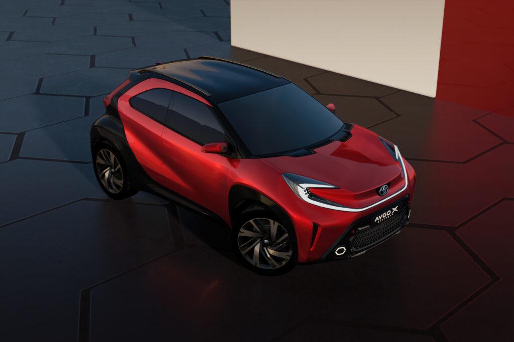 Toyota Aygo X alto tre quarti