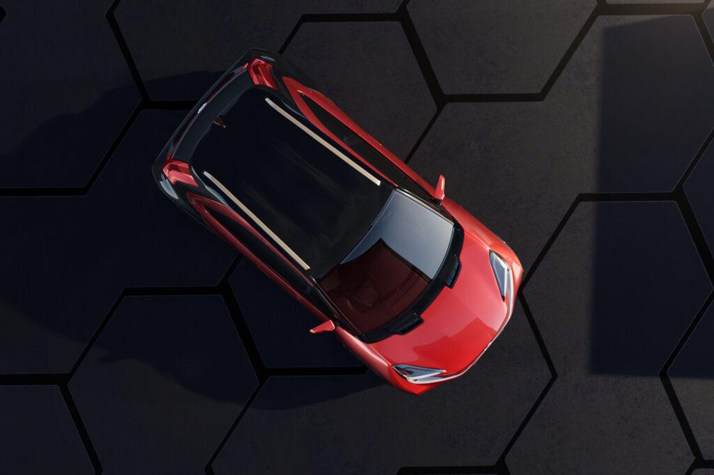 Toyota Aygo X sopra