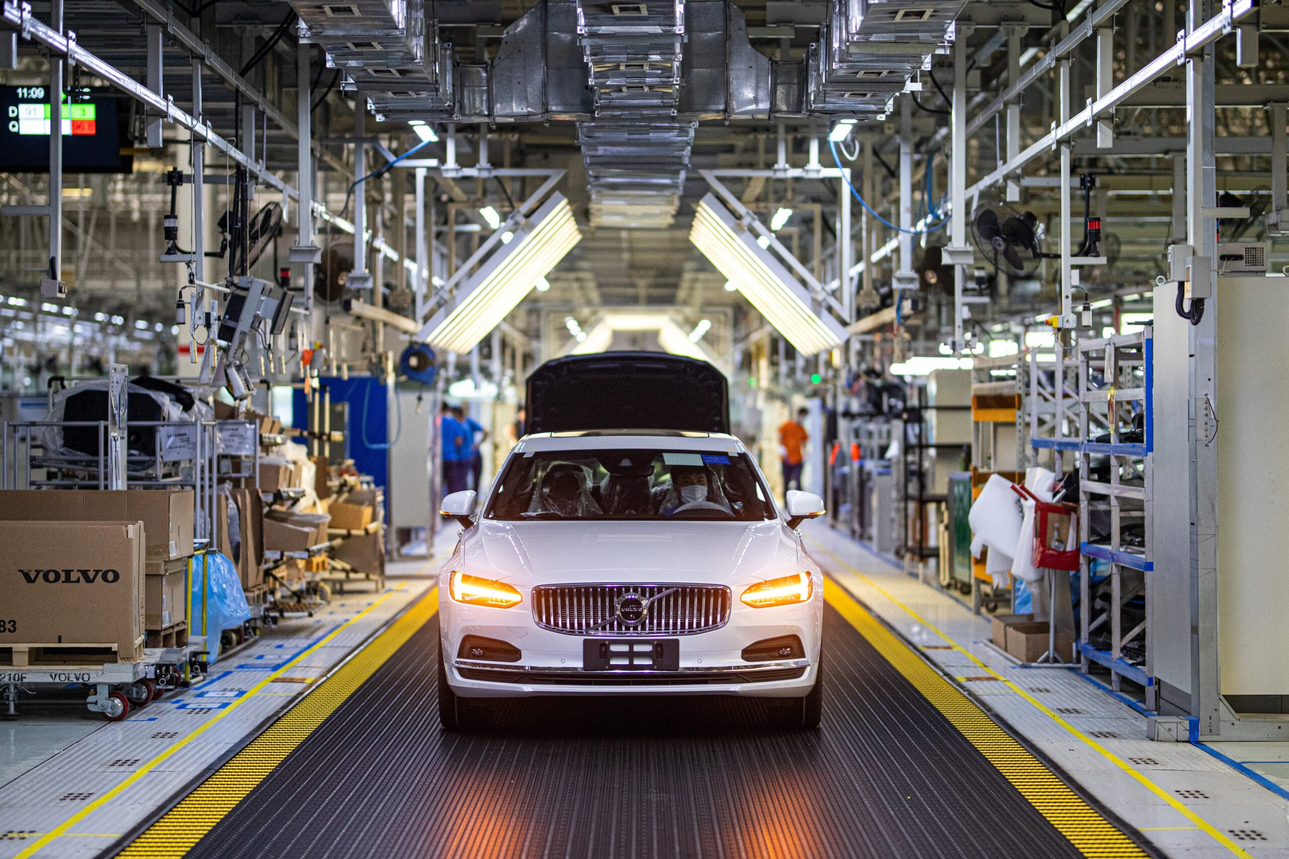 Volvo, anche in Cina la produzione è a impatto zero sul clima