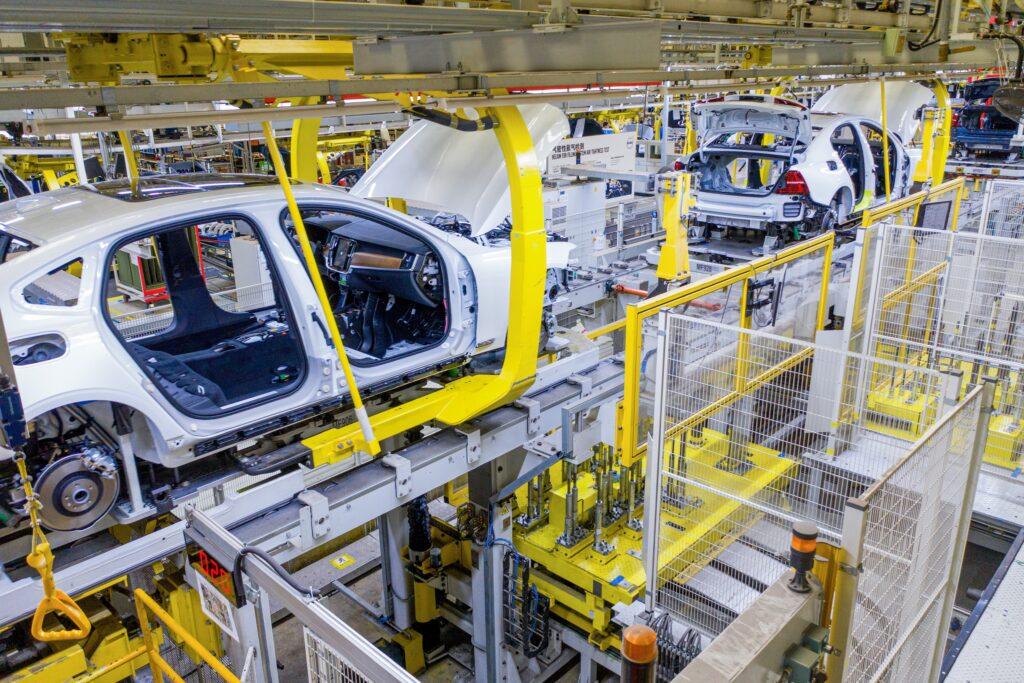 Produzione Volvo Cina Daqing