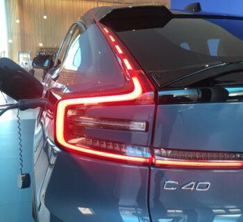 Volvo C40 Recharge soltanto a batterie e infrastruttura di ricarica Volvo in Italia