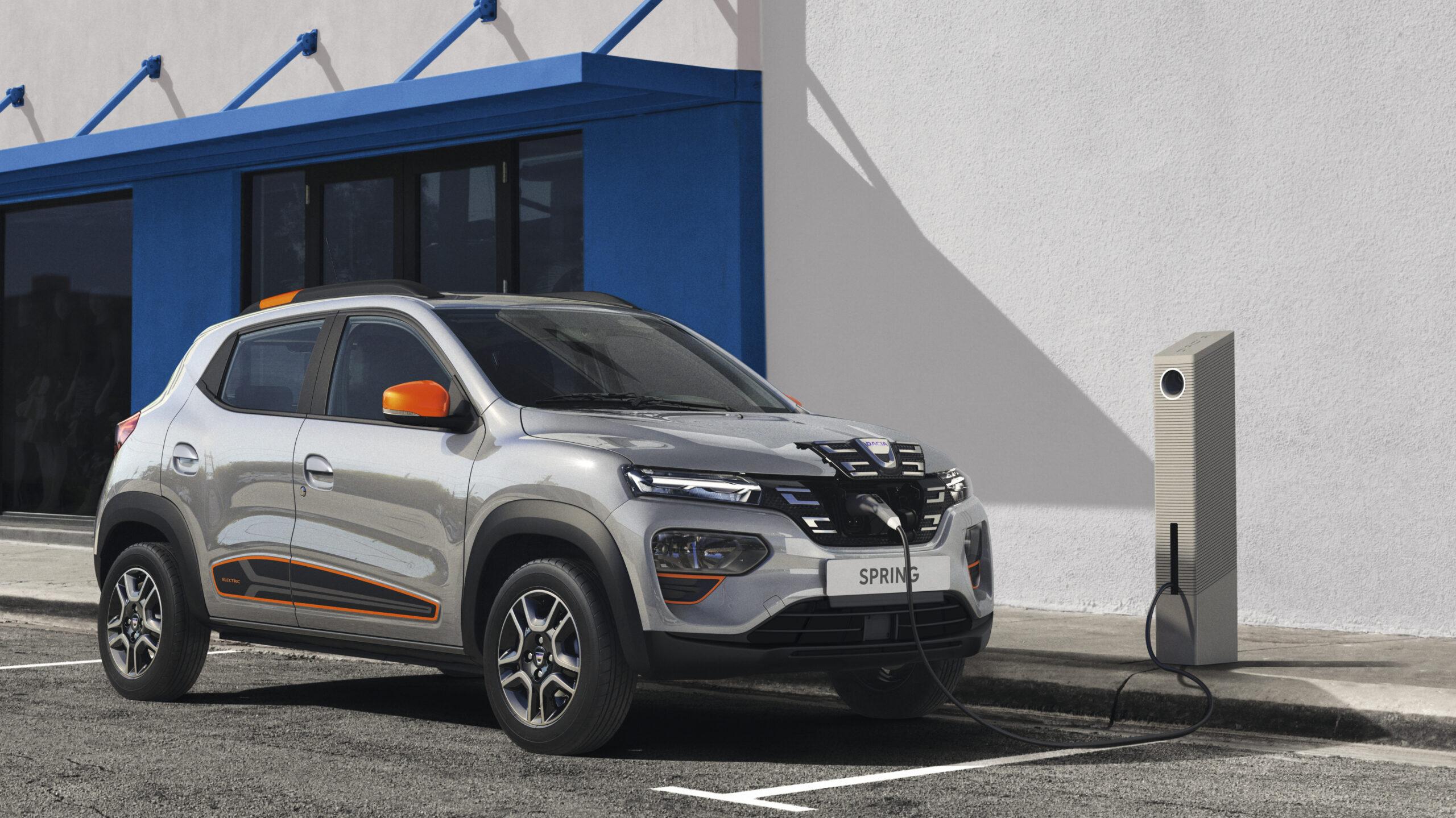 Dacia Spring, arriva l'elettrica low cost a meno di 20mila euro