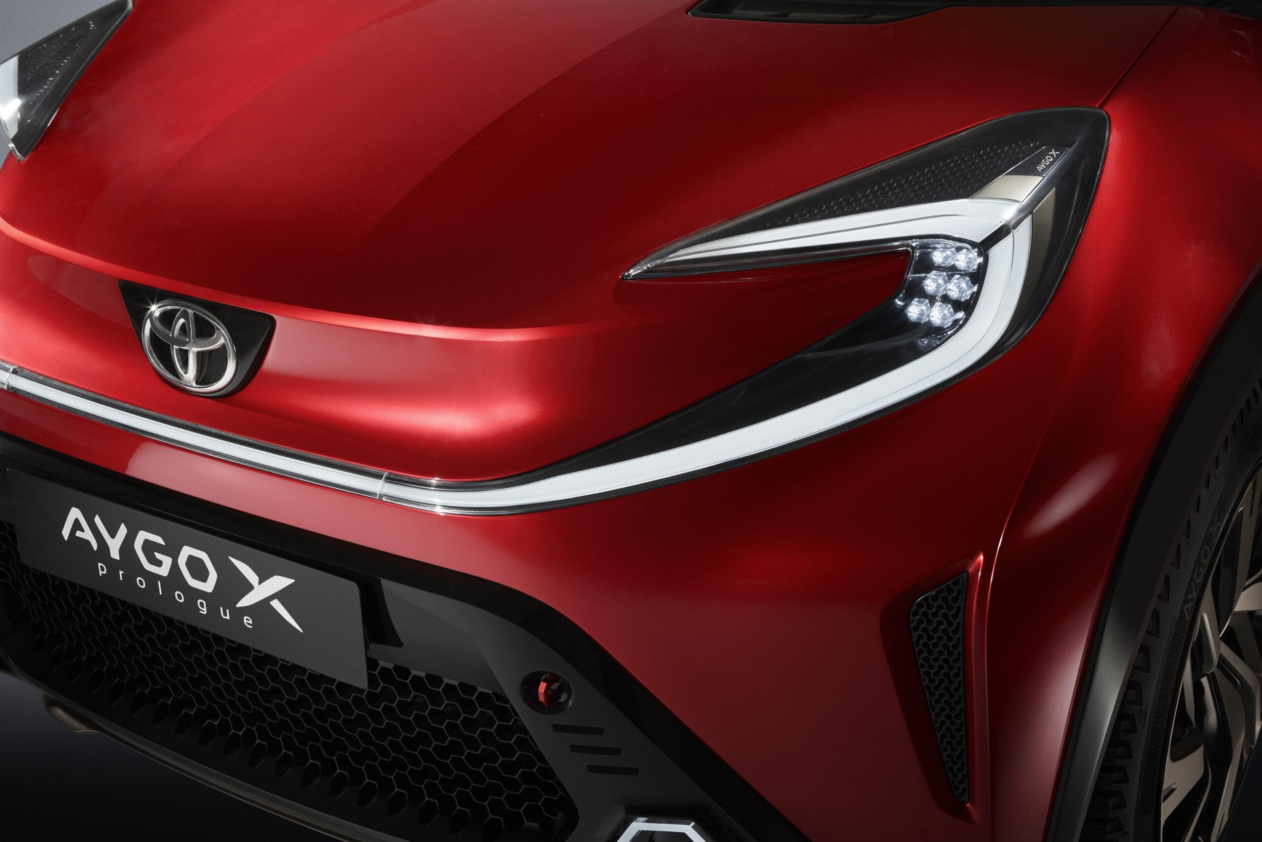 Toyota Aygo X Prologue, la citycar per l'Europa è un mini Suv
