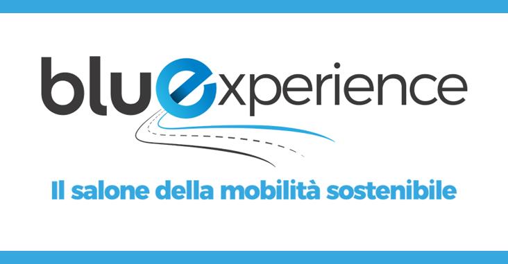logo Bluexperience salone mobilità sostenibile