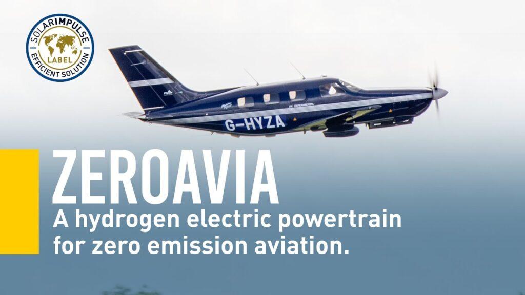 ZeroAvia aereo a idrogeno