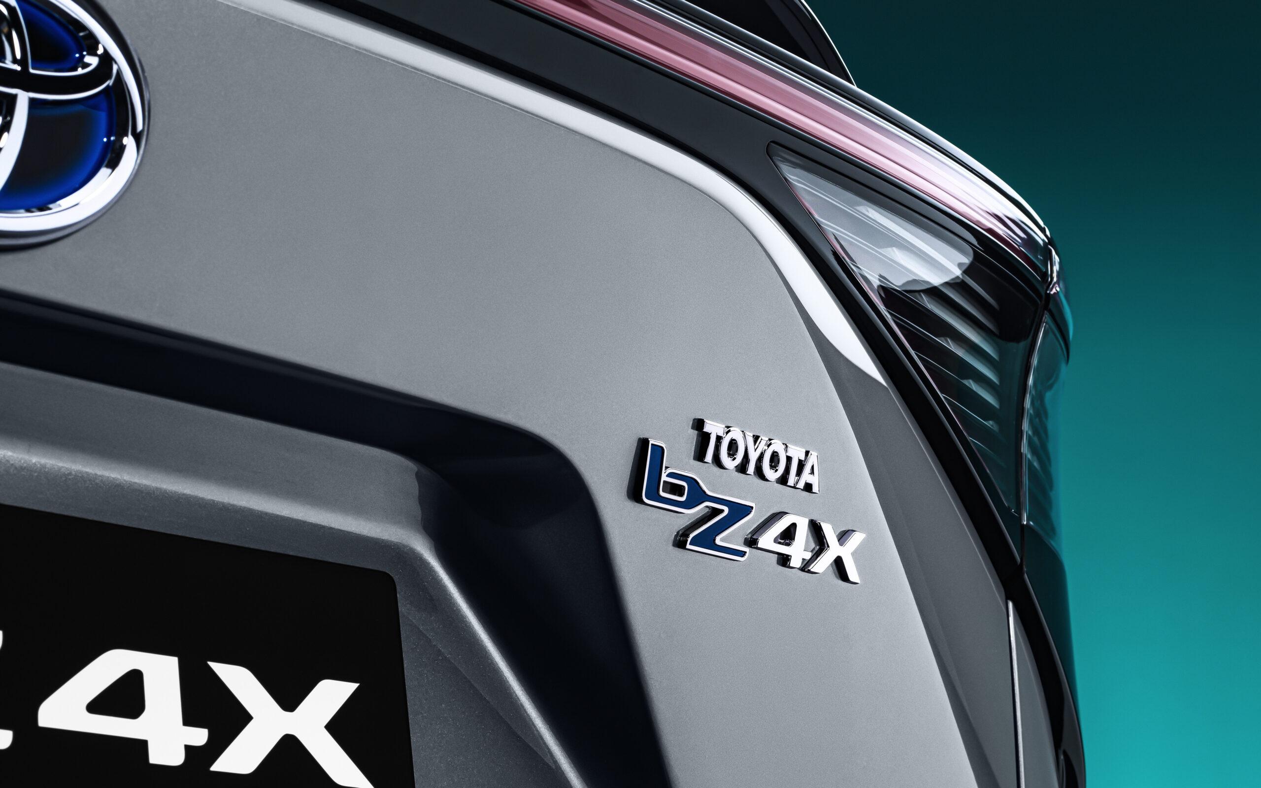 Beyond zero marchio Toyota bZ4X