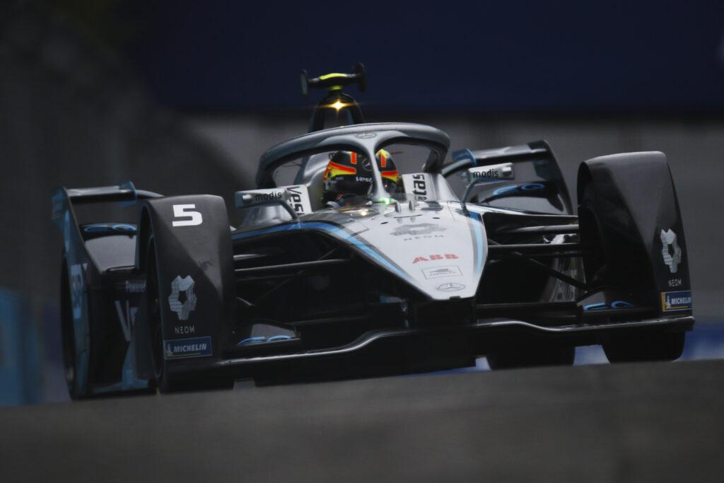 Roma E-Prix Mercedes Stoffel Vandoorne