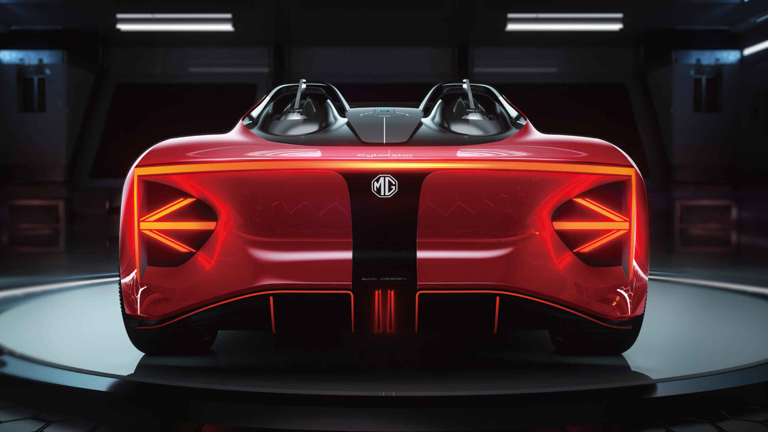 MG Cyberster, il ritorno alla roadster nel segno dell'elettrico