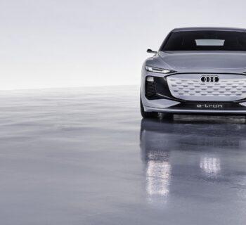 Audi A6 E-tron concept, la prima auto dei Quattro Anelli su piattaforma PPE