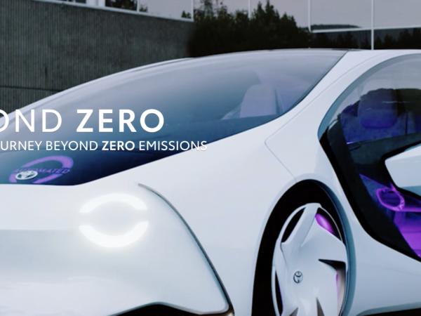 Beyond zero Toyota