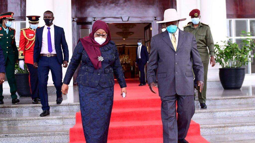 Presidente uganda e tanzania