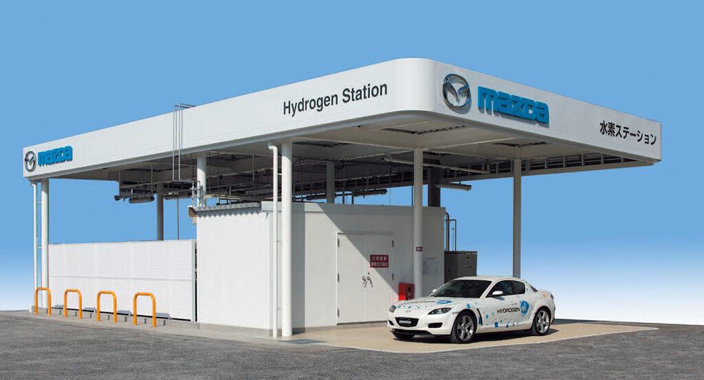 Mazda RX-8 RE Hydrogen