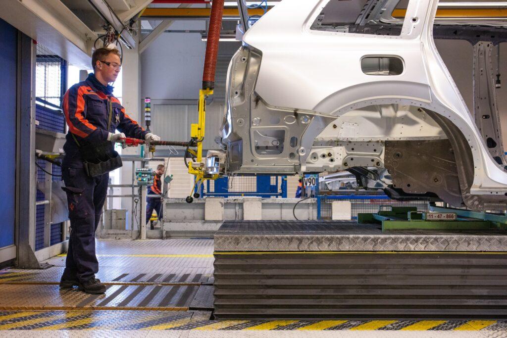 Fabbrica Volvo montaggio auto