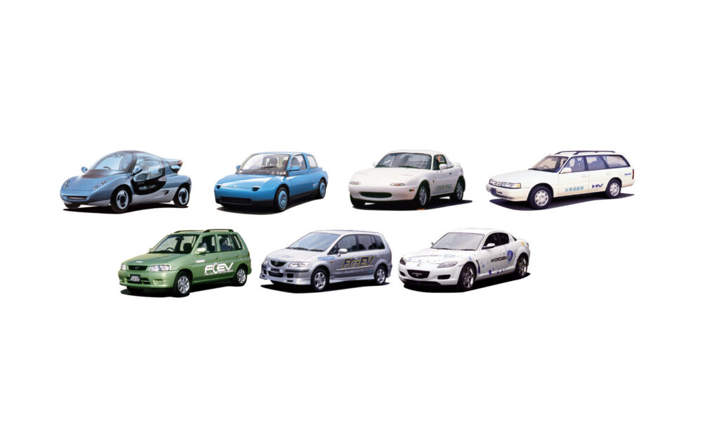 Mazda idrogeno