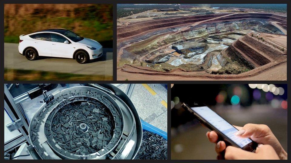 Terre Rare e tecnologie