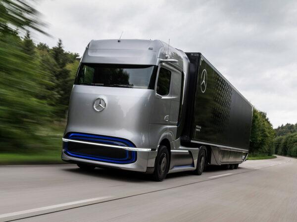Daimler Volvo camion idrogeno