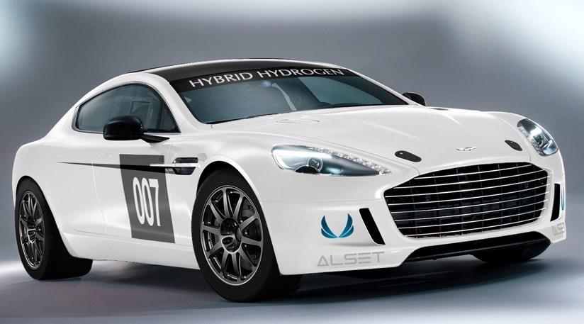 Aston Martin Rapide S hydrogen