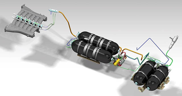 Aston Martin Rapide S idrogeno
