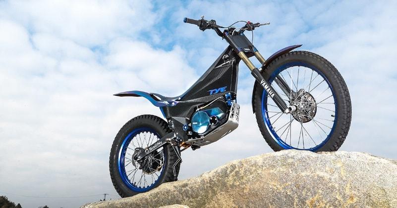 Yamaha trial elettrica