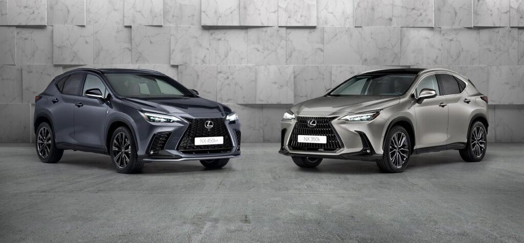 Lexus Nx 350h e 450h+