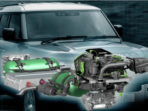 Land Rover Defender Hydrogen Fuel Cell