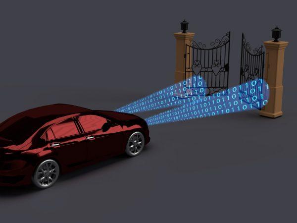 Fari parlanti Bitjam auto e cancello codice binario