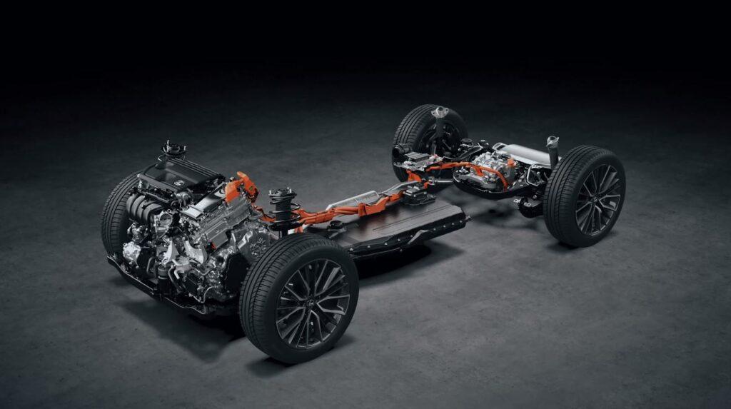 Lexus Nx 450h+ powertrain