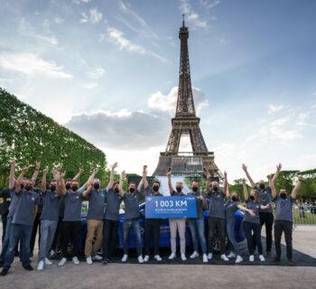 Toyota Mirai fa oltre 1.000 km con un pieno di idrogeno ed è record del mondo