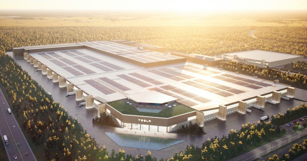 Gigafactory Berlino Tesla