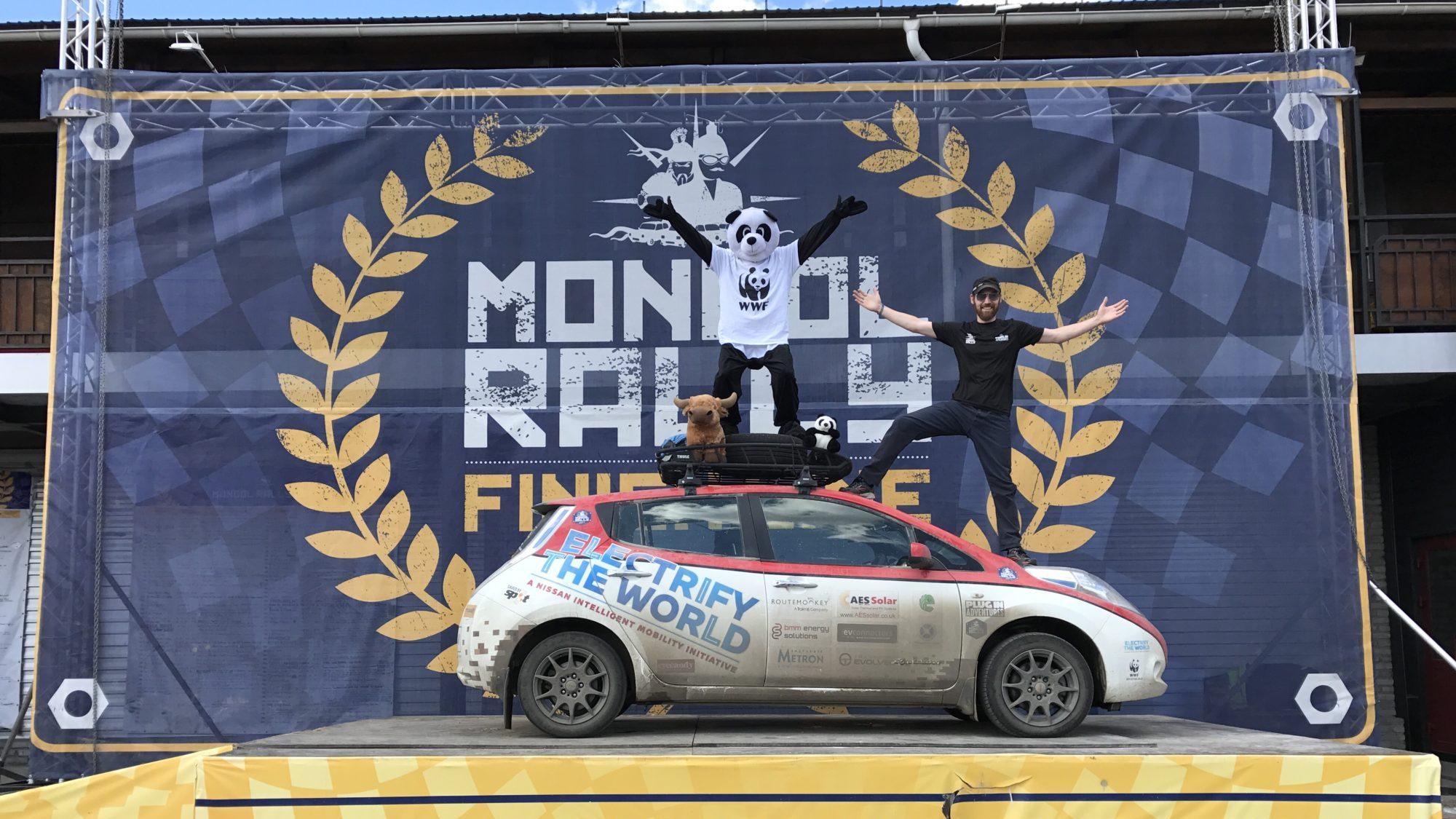 Mongol Rally Chris Ramsey