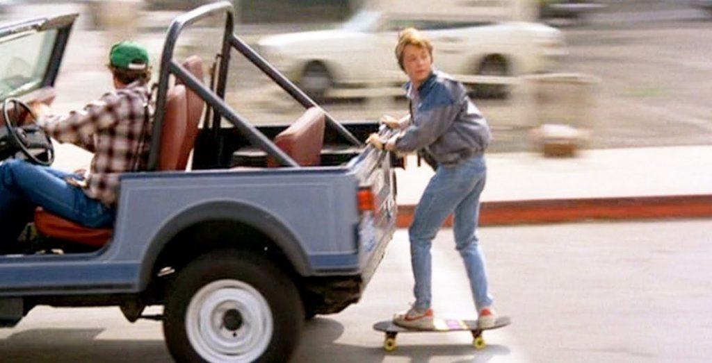 Michael J Fox Skateboard