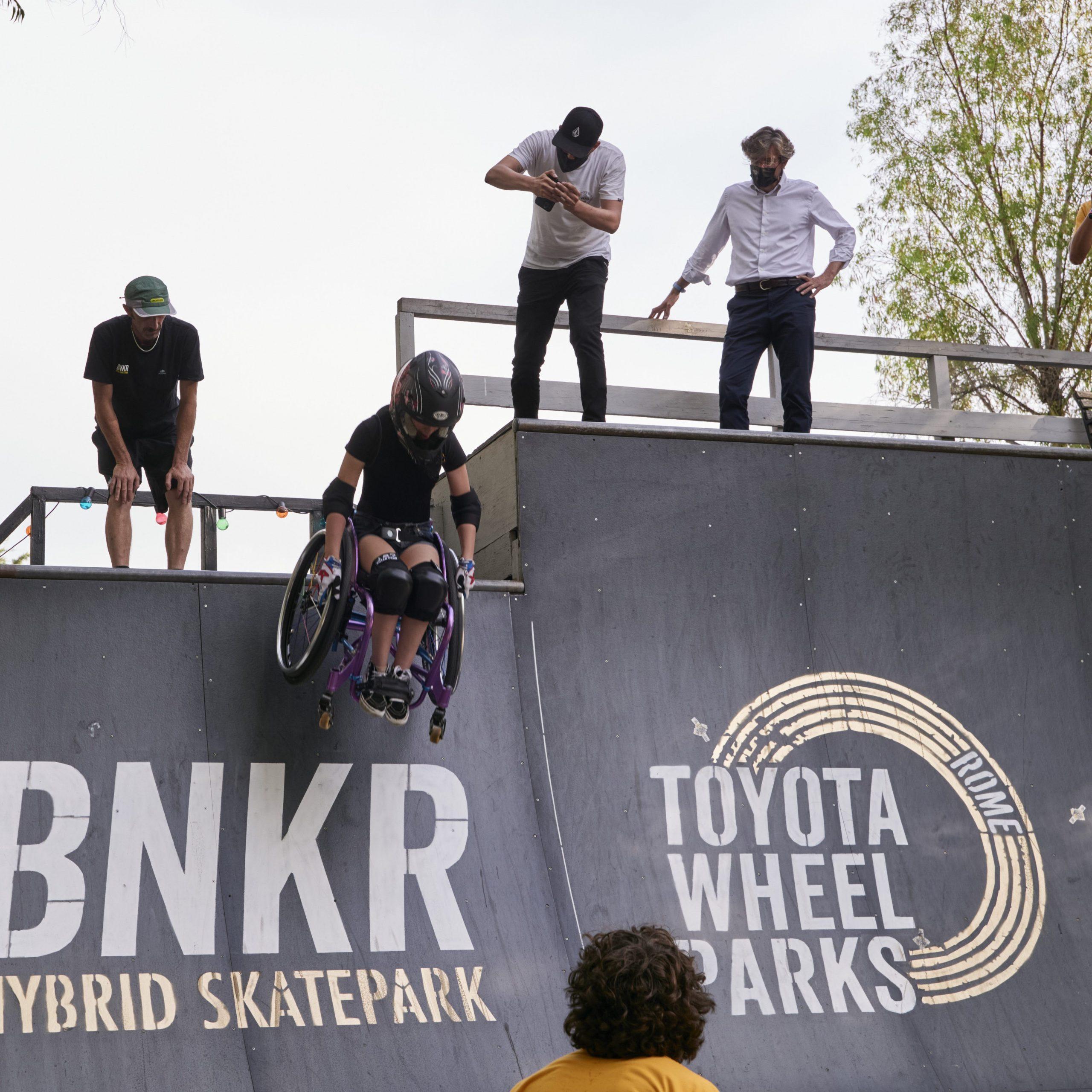 Toyota Wheel Park Ilaria Naef
