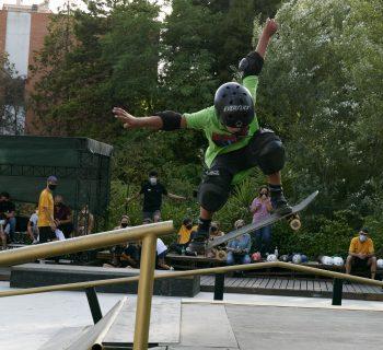 Skateboard e inclusione, la lezione del Toyota Wheel Park a Roma