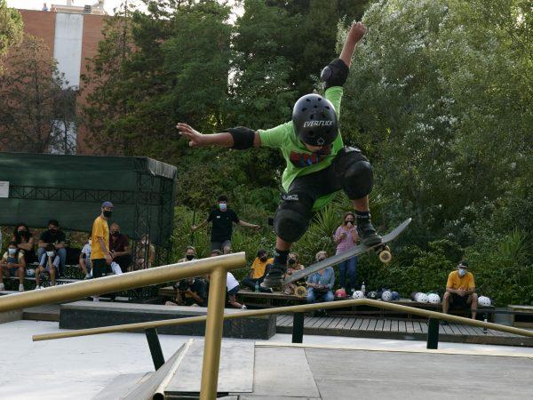Skateboard Toyota Wheel Park