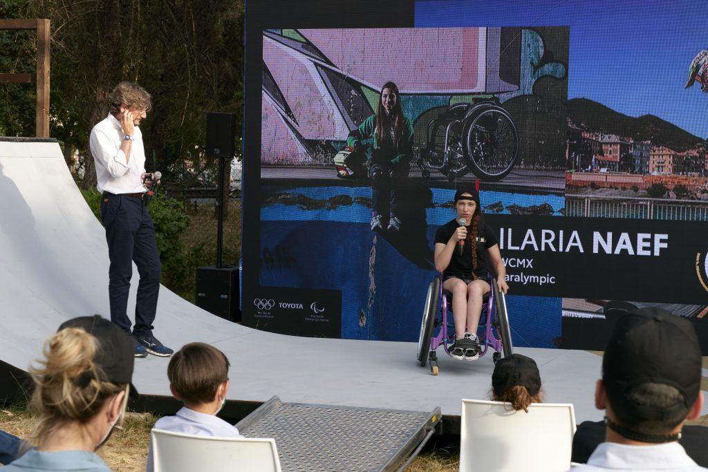 Ilaria Naef conferenza Toyota