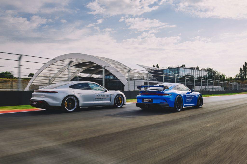 Porsche su pista Franciacorta