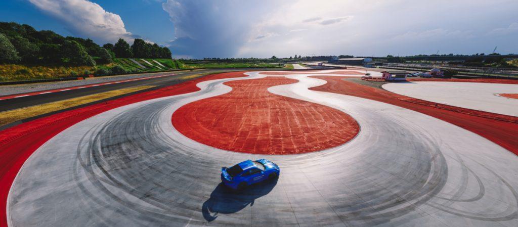 Porsche Experience Center pista