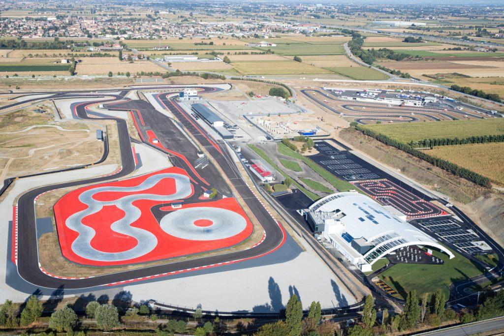 Porsche Center Franciacorta dall'alto inaugurazione