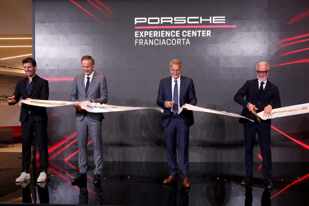 Inaugurazione Porsche Experience Center Franciacorta