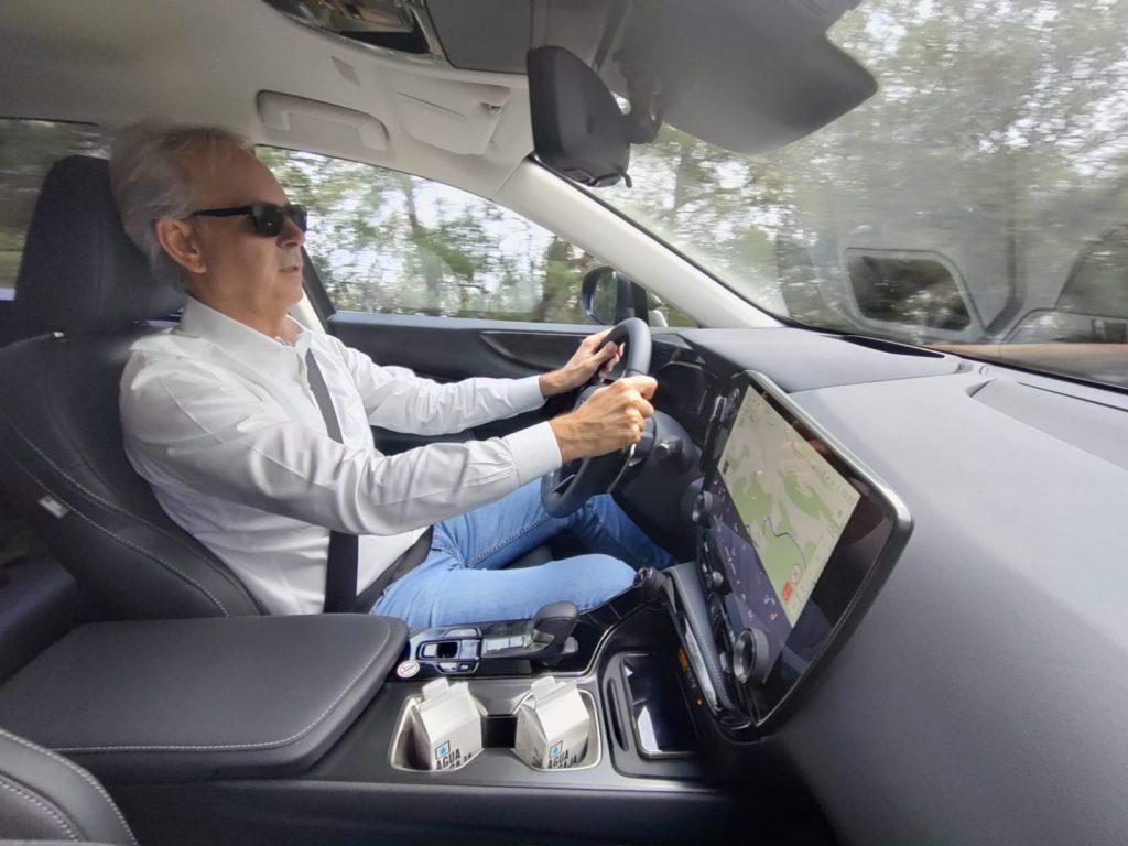 Fabio Orecchini guida Lexus Nx 450h+