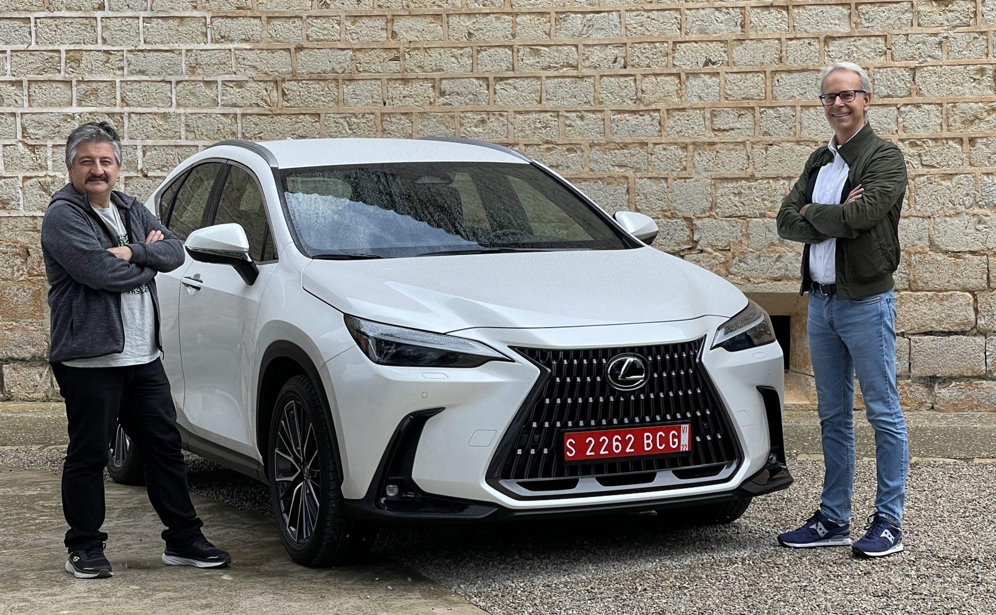 Lexus Nx Plug-in Hybrid, doppia prova su strada di Orecchini e Desiderio