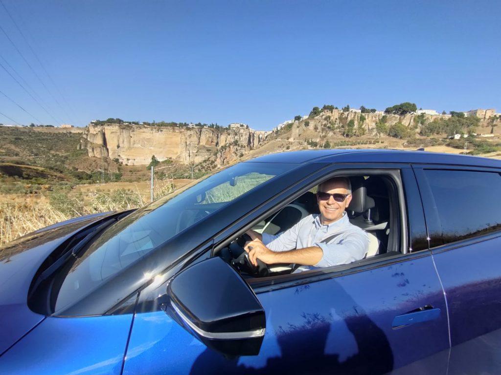 Fabio Orecchini guida Kia EV6
